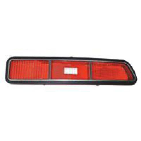 69 Chevy Camaro Tail Light Lens for standard model RH