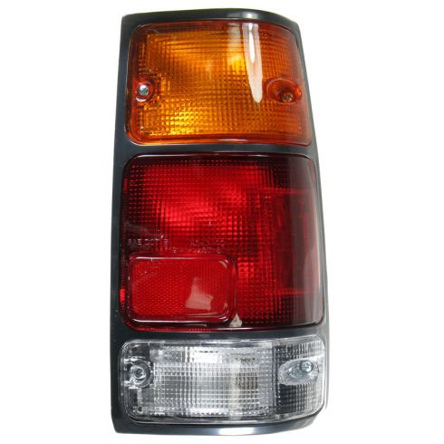 1988-97 Isuzu Amigo Rodeo Pickup Honda Passport Tail Light With Black Bezel RH