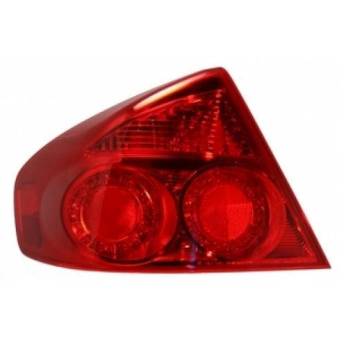 05-06 Infiniti G35 Sedan Taillight Outer LH