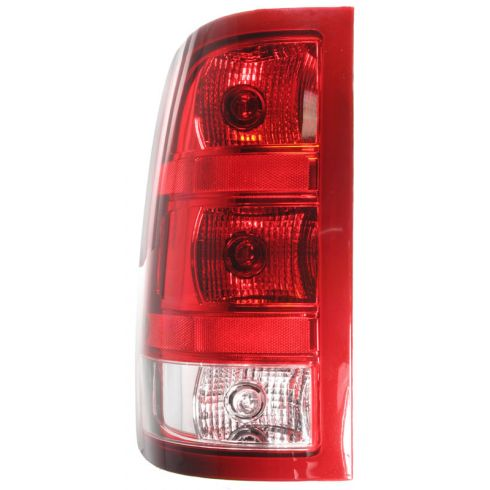 2007-10 GMC Sierra Fleetside Taillight LH