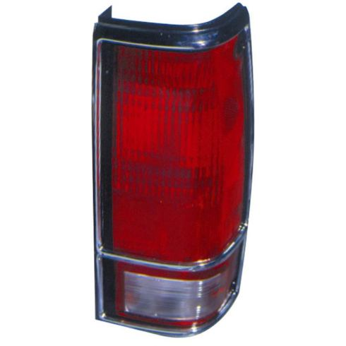 1983-94 S10 Blazer S15 Jimmy Taillight (w/Chrome Bezel) RH