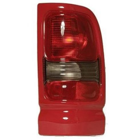 1994-02 Dodge Ram Sport PU Taillight w/Red Bezel RH