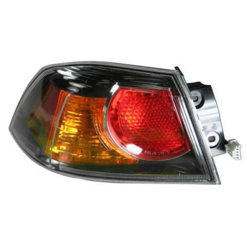 2009-10 Mitsu Lancer w/Turbo; Evolution Outer Taillight LH