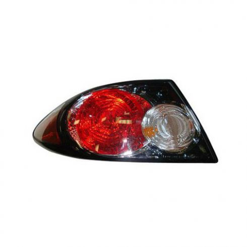 2006-08 Mazda 6 Outer Taillight (w/Black Background) LH