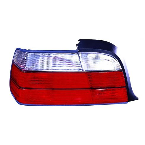 1992-99 BMW 3 Series Coupe Convertible Tail Light (Red & White) LH