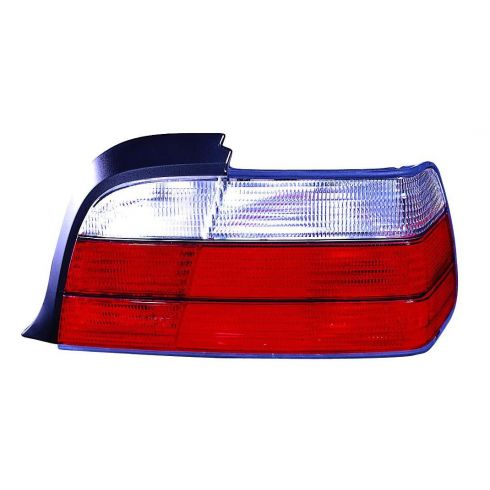 1992-99 BMW 3 Series Coupe Convertible Tail Light (Red & White) RH