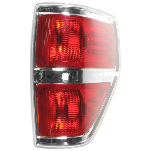 09-11 Ford F150 Styleside Taillight w/Chrome Edge RH