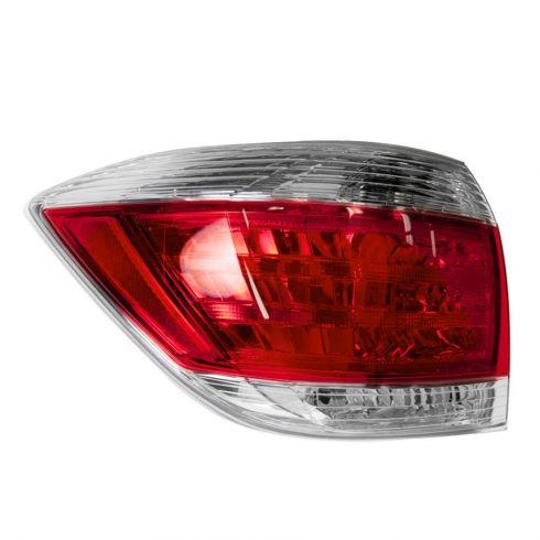 11-13 Toyota Highlander Taillight LH
