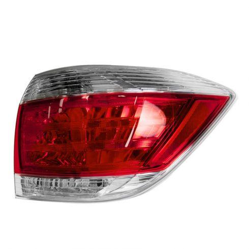 11-13 Toyota Highlander Taillight RH