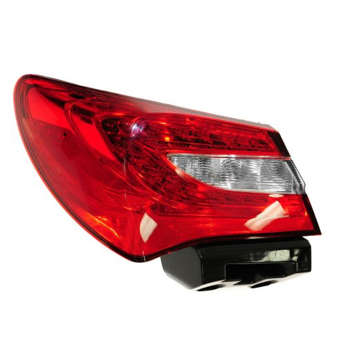 11-12 Chrysler 200 Sedan Taillight LH