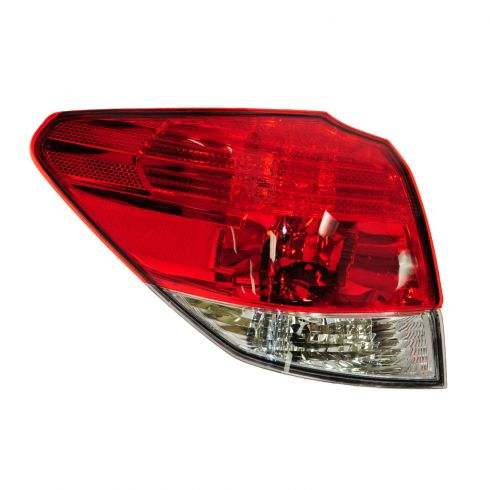 10-13 Subaru Outback Sedan Outer Taillight LR