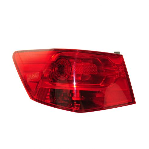 10-13 Kia Forte Sedan Outer Taillight LH