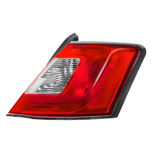 10-12 Ford Taurus Outer Taillight w/Chrome Trim RH