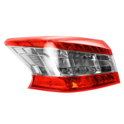 13 Nissan Sentra Outer Taillight LH