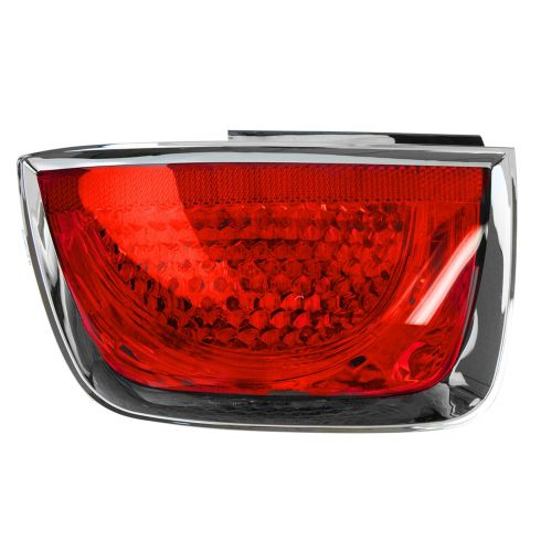 10 Chevy Camaro (exc RS); 11-13 Camaro (exc RS & w/o Rear Park Assist) Outer Taillight w/Bezel LH
