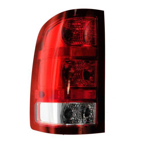 09-10 Sierra Denali; 11-13 Sierra Denali 1500, 2500, 3500 SRW (w/3047 BU Lamp) Taillight LH