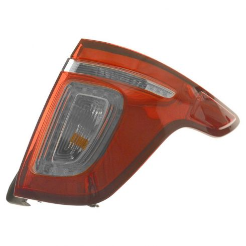 11-15 Ford Explorer (exc. Police Package) Red Lens Taillight RH