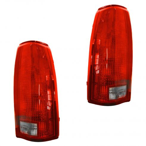 1988-01 GM Trucks Tail Light w/o conn Pair
