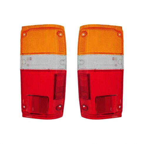 1984-89 Toyota Pickup 4 Runner Tail Light Lens Pair