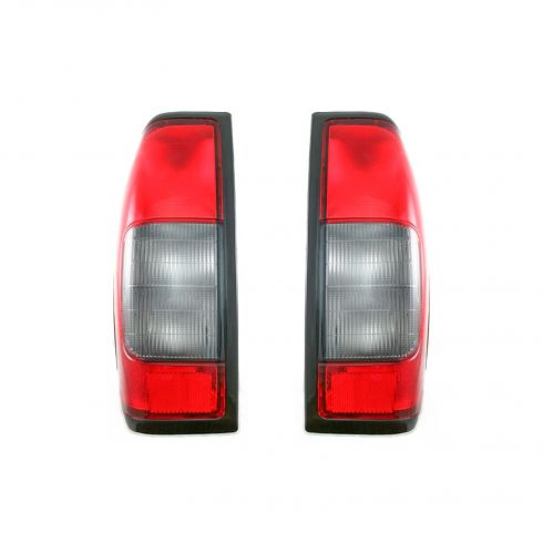 00-04 Nissan Frontier Pickup Tail Light Pair