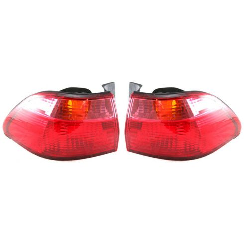 1998-00 Honda Accord Sedan 1/4 Mounted Tail Light Pair