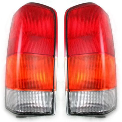 1997-01 Jeep Cherokee Tail Light  Pair