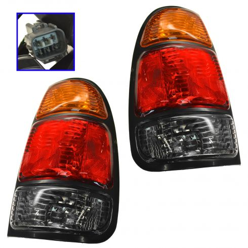 00-04 Toyota Tundra Tail Lamp Pair
