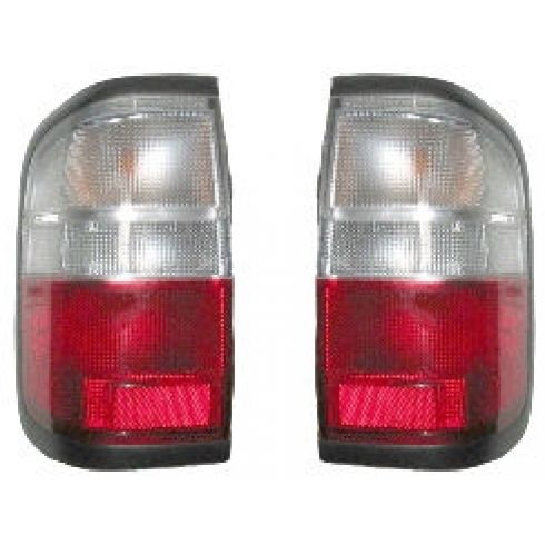 1997-00 Infinti QX4 Tail Lamp Pair