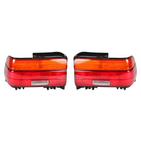 1993-95 Toyota Corolla Sedan Tail Lamp Pair