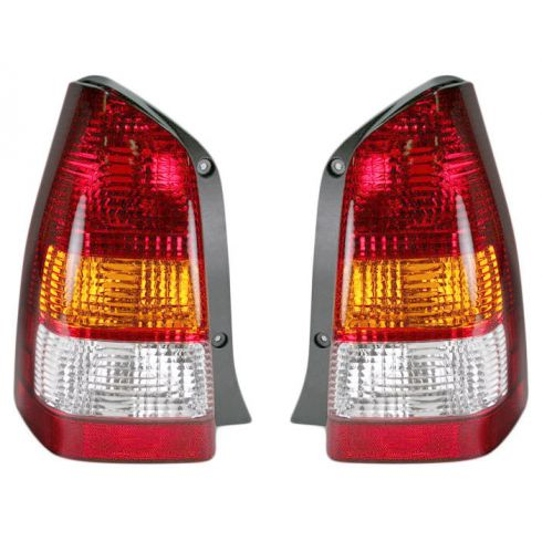 2001-04 Mazda Tribute Tail Lamp Pair