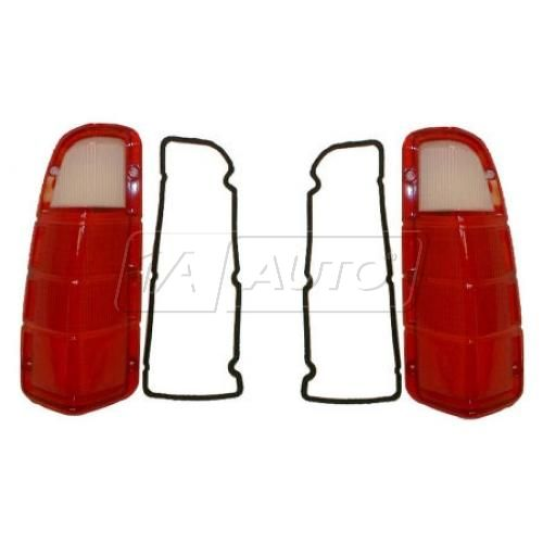 72-80 Dodge PU Tail Light Lens Pair