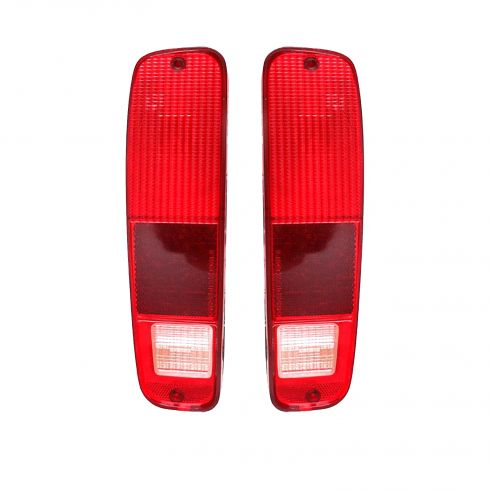 78-79 Bronco Taillight Lens Pair