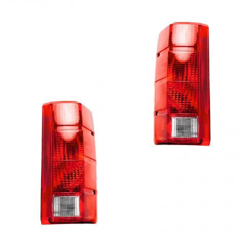 80-86 Bronco Taillight Lens Pair