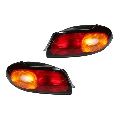 1996-97 Ford Taurus Sedan Tail Light Pair