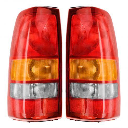 99-01 Sierra Silverado Taillight Pair