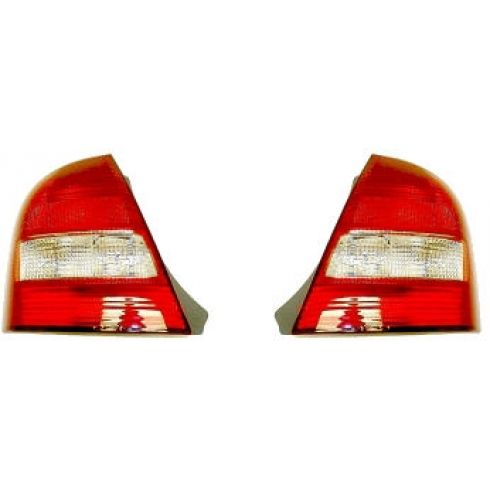 1999-03 Mazda Protege Tail Light Pair
