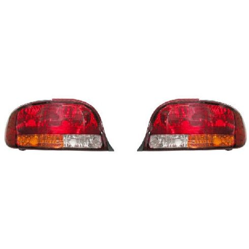 98-02 Oldsmobile Intrigue Taillight Pair