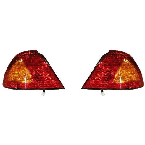 2000-02 Toyota Avalon Tail Light Pair
