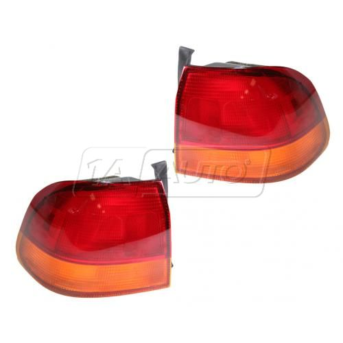 96-98 Honda Civic SDN Taillight Pair