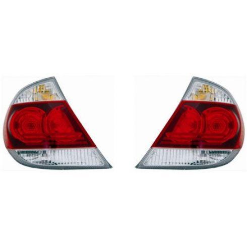 05-06 Toyota Camry SE Taillight With Black Trim Pair