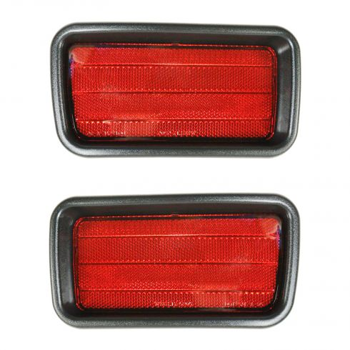 Rear Bumper Reflector Driver Side