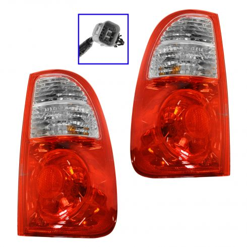 2005-06 Tundra Tail Light Pair for Std & Ext Cab Std