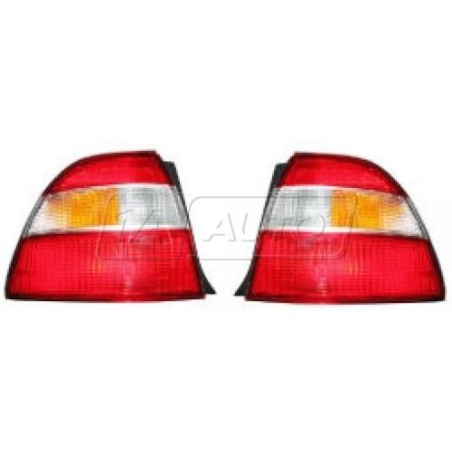 Tail Light Driver Side for Sedan Coupe Lens and Housing