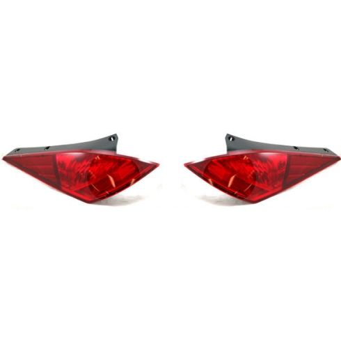 Upper Tail Light Quarter Mounted Driver Side