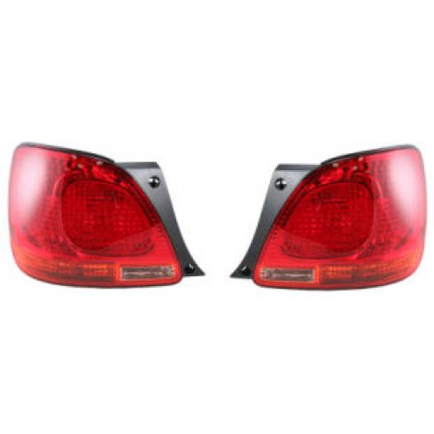01-05 Lexus GS300 GS400 GS430 Quarter Mount Tail Light Pair