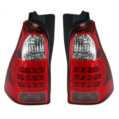 06-08 Toyota 4 Runner Tail Light Pair