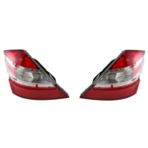 07-08 Mercedes Benz S550 S600 S65 Tail Light Pair
