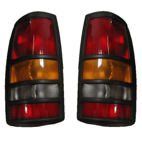 2001-03 Chevy Silverado GMC Sierra 3500 Taillight PAIR