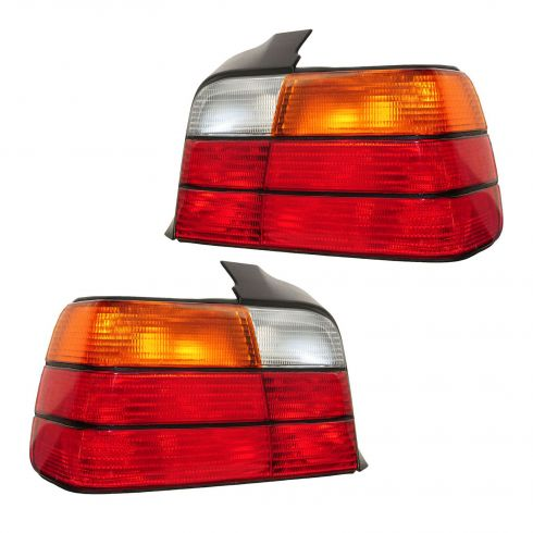 1992-98 BMW 3 Series Sdn Taillight PAIR