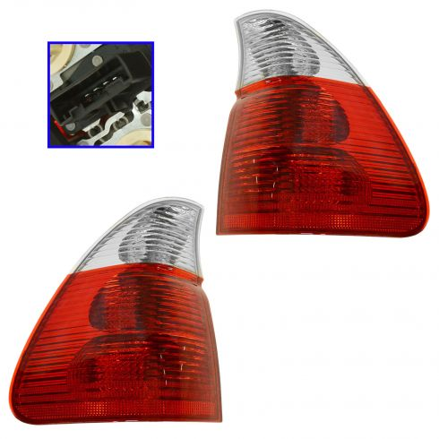 04-06 BMW X5 Taillight (w/Clear Indicator) PAIR
